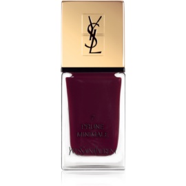Yves Saint Laurent La Laque Couture lak na nehty odstín 07 Prune Minimale 10 ml