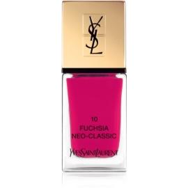 Yves Saint Laurent La Laque Couture Nail Polish Shade 10 Fuchsia Neo-Classic 10 ml