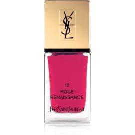 Yves Saint Laurent La Laque Couture lak na nehty odstín 12 Rose Renaissance 10 ml