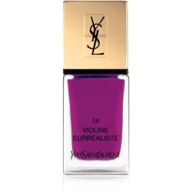 Yves Saint Laurent La Laque Couture Nail Polish Shade 14 Violine Surrealiste 10 ml