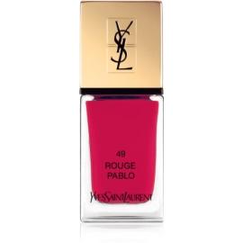 Yves Saint Laurent La Laque Couture Nail Polish Shade 49 Rouge Pablo 10 ml