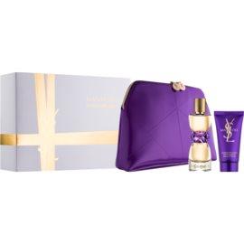 Yves Saint Laurent Manifesto zestaw upominkowy V. woda perfumowana 50 ml + mleczko do ciała 50 ml + torebka kosmetyczna 24 x 5 x 15 cm
