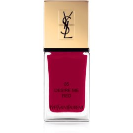 Yves Saint Laurent La Laque Couture Nail Polish Shade 85 Desire Me Red 10 ml