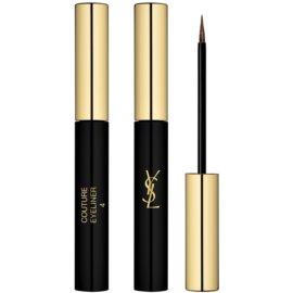 Yves Saint Laurent Couture Eyeliner Vloeibare Eyeliner  Tint  4 Brun Essentiel Satiné 2,9 ml