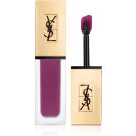 Yves Saint Laurent Tatouage Couture ultra matující tekutá rtěnka odstín 04 Purple Identity 6 ml