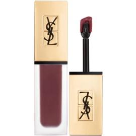 Yves Saint Laurent Tatouage Couture ultra matující tekutá rtěnka odstín 15 Violet Conviction - Deep Blackberry 6 ml