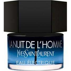 Yves Saint Laurent La Nuit De L'Homme Eau Électrique toaletní voda pro muže 40 ml