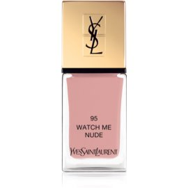 Yves Saint Laurent La Laque Couture Nail Polish Shade 95 Watch Me Nude 10 ml
