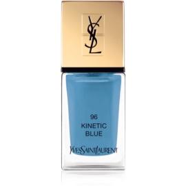 Yves Saint Laurent La Laque Couture Nail Polish Shade 96 Kinetic Blue 10 ml