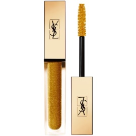 Yves Saint Laurent Vinyl Couture Mascara riasenka pre predĺženie, natočenie a objem odtieň 8 I'm The Fire - Gold Sparkle - Top Coat 6,7 ml