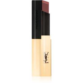 Yves Saint Laurent Rouge Pur Couture The Slim tanka matirajoča šminka z usnjenim učinkom odtenek 6 Nu Insolite 2,2 g