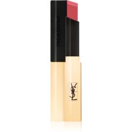 Yves Saint Laurent Rouge Pur Couture The Slim tanka matirajoča šminka z usnjenim učinkom odtenek 12 Nu Incongru 2,2 g