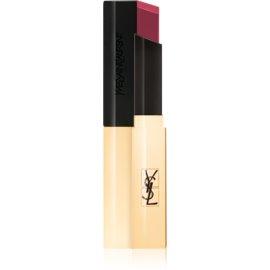 Yves Saint Laurent Rouge Pur Couture The Slim tanka matirajoča šminka z usnjenim učinkom odtenek 16 Rosewood Oddity 2,2 g