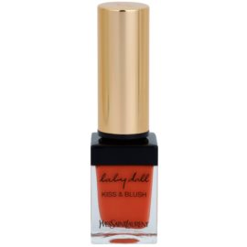Yves Saint Laurent Baby Doll Kiss & Blush Lipstick and Blusher In One Color 7 Corail Affranchi  10 ml