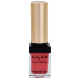 Yves Saint Laurent Baby Doll Kiss & Blush Lipstick and Blusher In One Color 8 Pink Hédoniste  10 ml