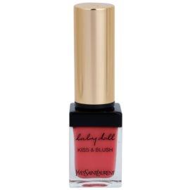 Yves Saint Laurent Baby Doll Kiss & Blush szminka i róż w jednym odcień 8 Pink Hédoniste  10 ml