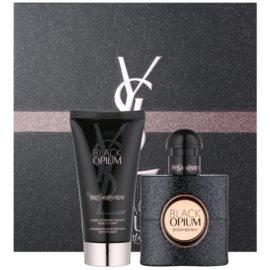 Yves Saint Laurent Black Opium dárková sada V.  parfémovaná voda 30 ml + tělové mléko 50 ml