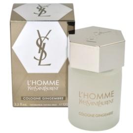 Yves Saint Laurent L´Homme Cologne Gingembre kolonjska voda za moške 100 ml