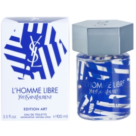Yves Saint Laurent L'Homme Libre Art Edition Eau de Toilette for Men 100 ml