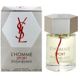 Yves Saint Laurent L´Homme Sport Eau de Toilette pentru barbati 100 ml