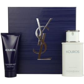 Yves Saint Laurent Kouros подарунковий набір IV  Туалетна вода 100 ml + Гель для душу 100 ml