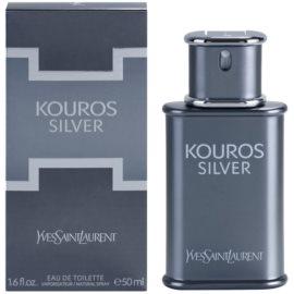 Yves Saint Laurent Kouros Silver toaletna voda za moške 50 ml