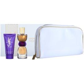 Yves Saint Laurent Manifesto dárková sada V. parfemovaná voda 50 ml + tělové mléko 50 ml + kosmetická taška 24 x 5 x 15 cm