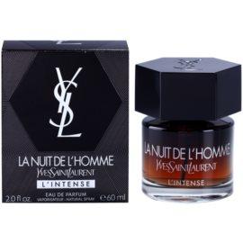 Yves Saint Laurent La Nuit de L'Homme L'Intense Eau De Parfum pentru barbati 60 ml