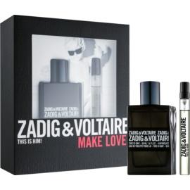 Zadig & Voltaire This Is Him! coffret cadeau IV.  eau de toilette 50 ml + eau de toilette 10 ml