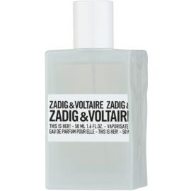Zadig & Voltaire This Is Her! Eau de Parfum für Damen 50 ml