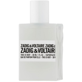 Zadig & Voltaire This Is Her! Eau de Parfum für Damen 30 ml