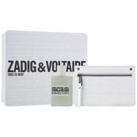 Zadig & Voltaire This Is Her! Geschenkset I.  Eau de Parfum 50 ml + Brieftasche