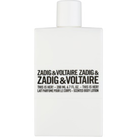 Zadig & Voltaire This Is Her! Body Lotion for Women 200 ml