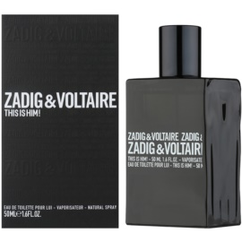 Zadig & Voltaire This Is Him! Eau de Toilette für Herren 50 ml
