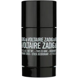 Zadig & Voltaire This Is Him! stift dezodor férfiaknak 75 g