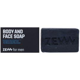 Zew For Men натуральне тверде мило для тіла та обличчя  85 мл