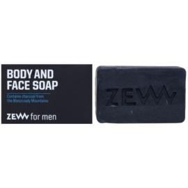 Zew For Men prírodné tuhé mydlo na telo a tvár  85 ml