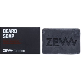 Zew For Men jabón natural en barra para barba  85 ml