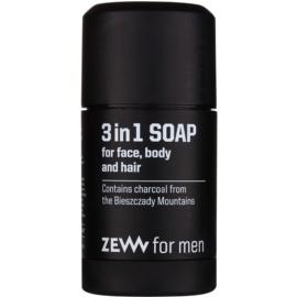 Zew For Men naravno trdo milo za obraz, telo in lase 3v1  85 ml