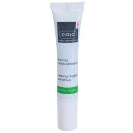 Ziaja Med Antibacterial Care punktowa kuracja przeciwtrądzikowa do twarzy, dekoltu i pleców  15 ml