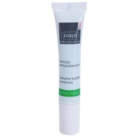 Ziaja Med Antibacterial Care lokale Pflege gegen Akne für Gesicht, Dekolleté und den Rücken  15 ml