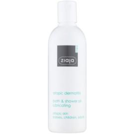 Ziaja Med Atopic Dermatitis Care Dusch - und Badeöl für Kinder und Erwachsene mit atopischer Haut  270 ml