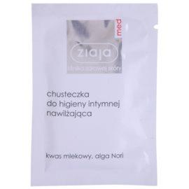 Ziaja Med Intimate Hygiene серветка для інтимної гігієни зі зволожуючим ефектом