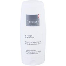 Ziaja Med Lipid Care erneuernde Creme Für Gesicht und Körper  80 ml