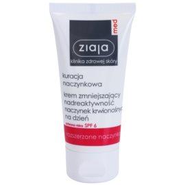 Ziaja Med Capillary Care lahka vlažilna krema za občutljivo kožo, ki je nagnjena k rdečici SPF 6  50 ml