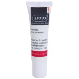 Ziaja Med Capillary Care konzentrierte Lokalpflege mit beruhigender Wirkung für empfindliche Haut mit Neigung zu Rötungen  30 ml