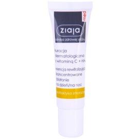 Ziaja Med Vitamin C & Hyaluronic Acid revitalisierendes Serum für müde Haut  30 ml