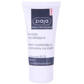 Ziaja Med Whitening Care ochranný krém proti pigmentovým skvrnám SPF 20  50 ml