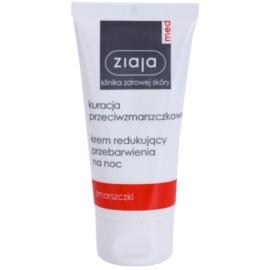 Ziaja Med Anti-Wrinkle Care zesvětlující noční krém s protivráskovým účinkem  50 ml