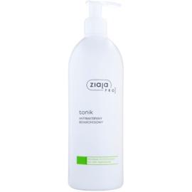 Ziaja Pro Cleansers Acne Skin antibakteriální tonikum bez alkoholu pro profesionální použití  500 ml